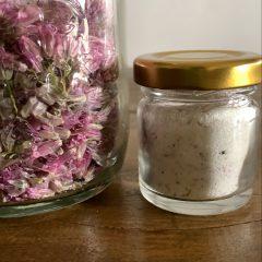 Fiore di cipollina in sale