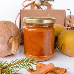Confettura extra di zucca butternut, mele renette e cannella
